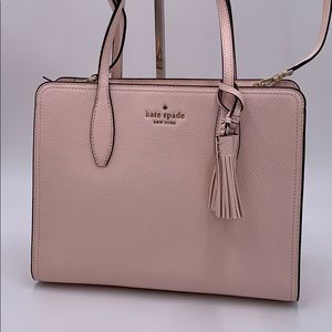 Kate Spade Rowe Leather Medium Top Zip Satchel